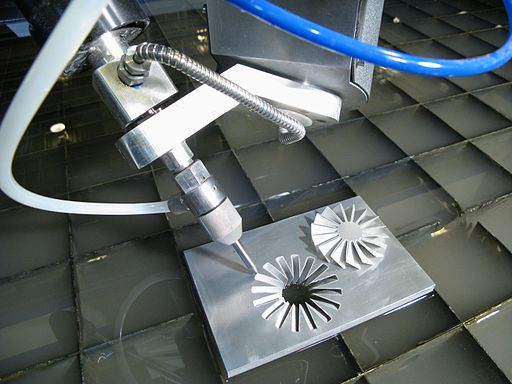 5-Axis Waterjet Cutting Head