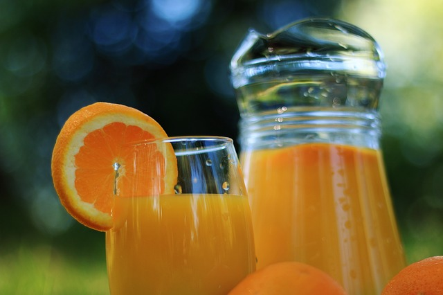 orange juice liquid diet